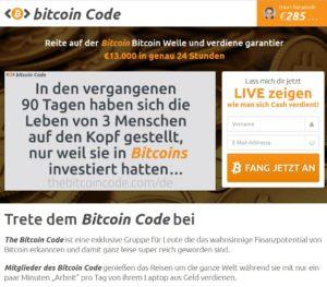 Spam Mail für Bitcoins